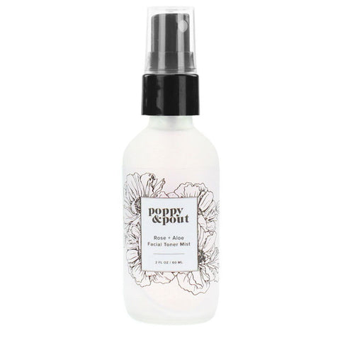 Rose + Aloe Facial Toner Mist