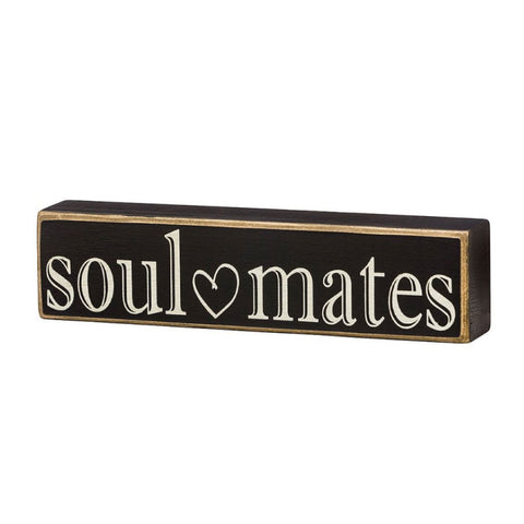 Soulmates Box Sign