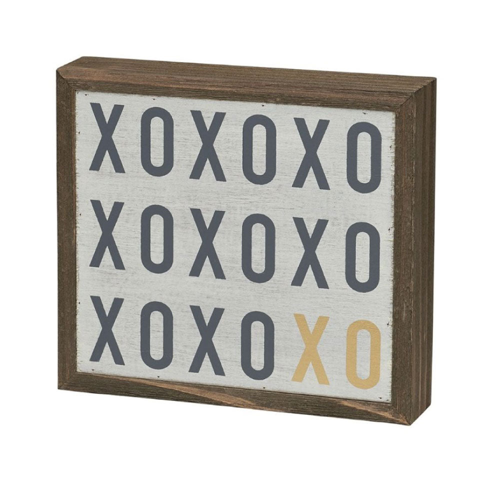 XOXO Barn Box Sign