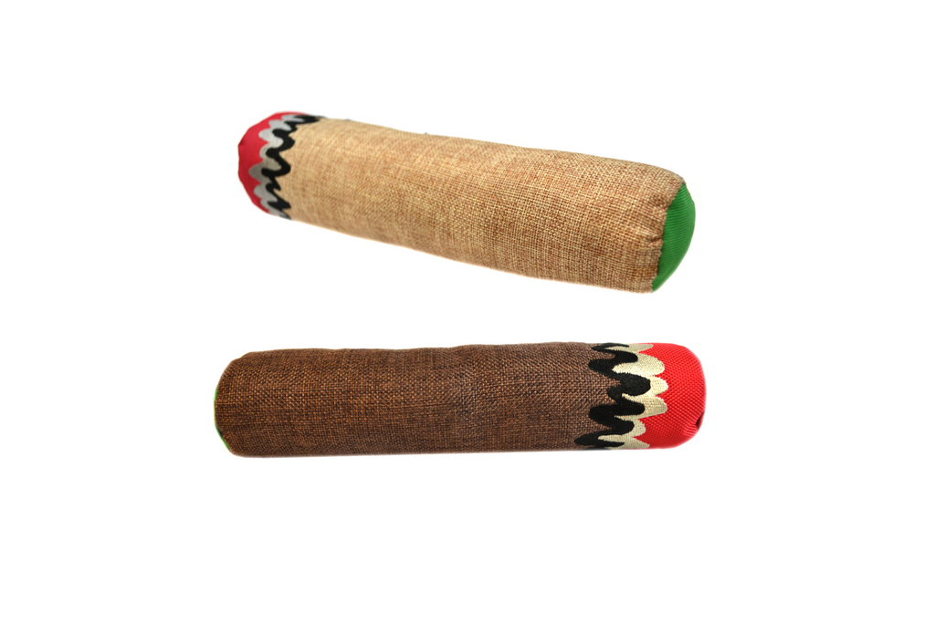 stoned high dog cigar cigarette hemp dog toys