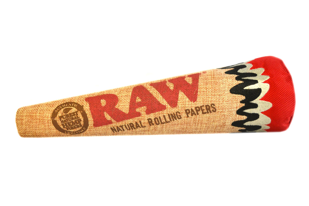 ichief stoned high dog raw joint cigarette hemp dog toy 3