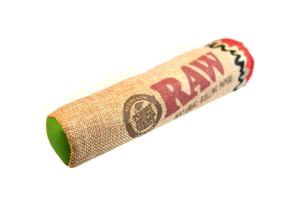 stoned high dog raw joint cigarette hemp dog toy 2