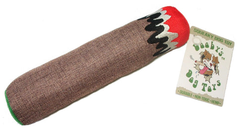 """Blunt"" Cigar Hemp Dog Toy"