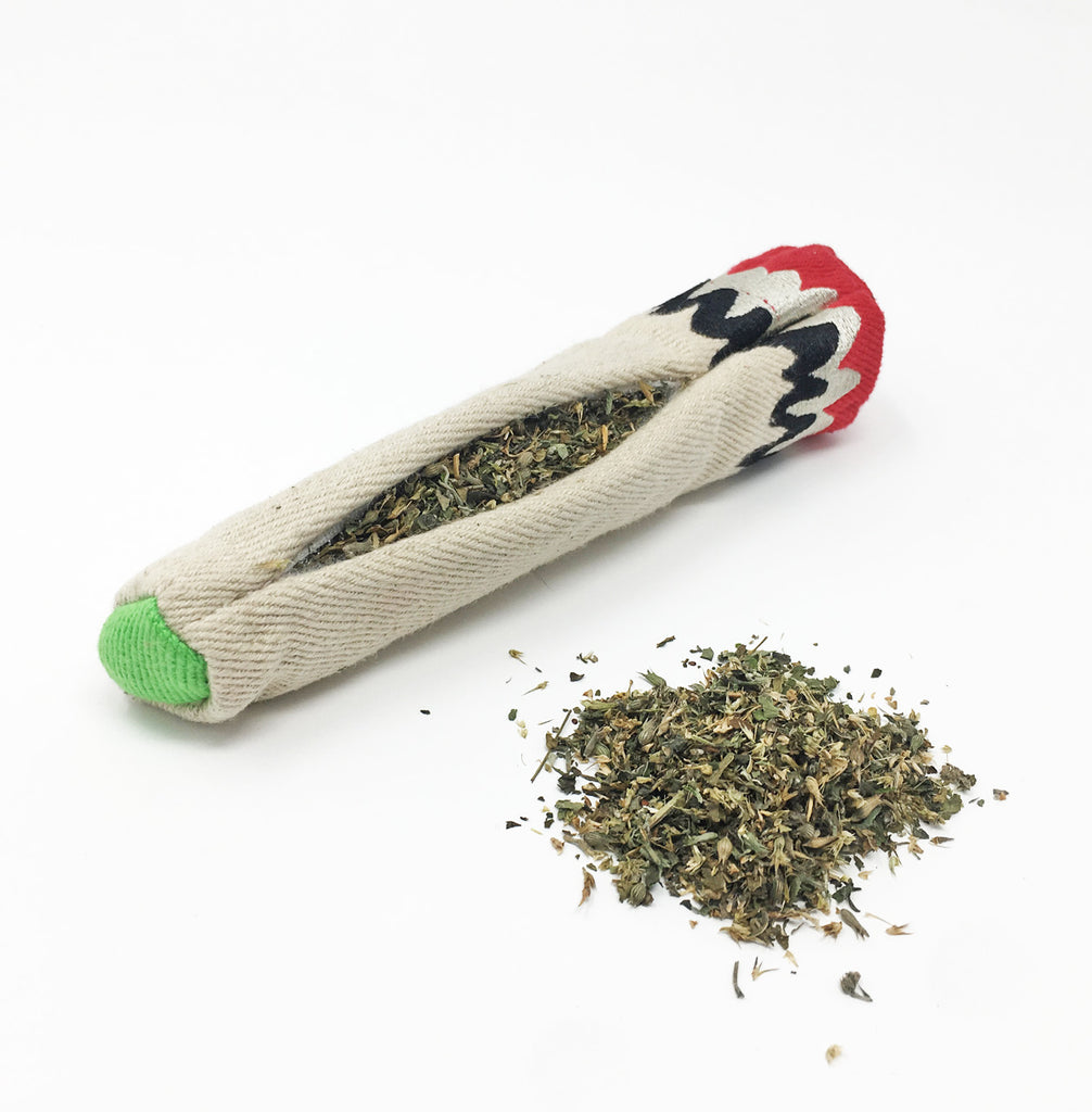 Hemp Joint Weed Catnip Toy