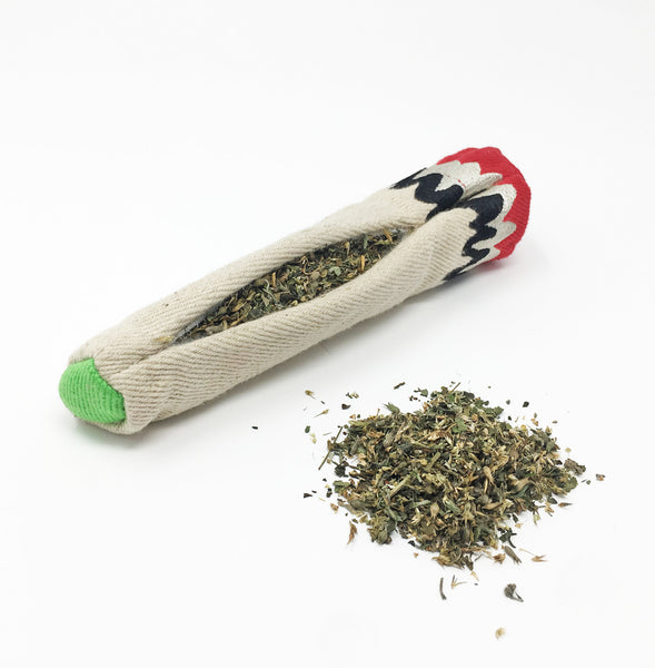 "Hemp ""Joint"" Catnip Cat Toy"