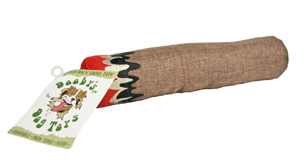 Dooby's Hemp Blunt Dog Toy