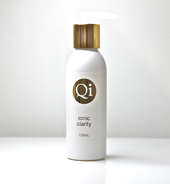 Qi ionic clarity cleanser 125ml