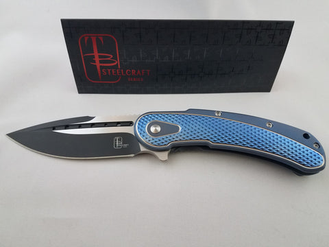 Todd Begg Steelcraft Series  Blue Diamond texture Bodega
