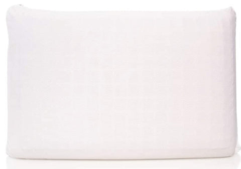 Hydraluxe Copper Pillow plain white rectangle pillow white background