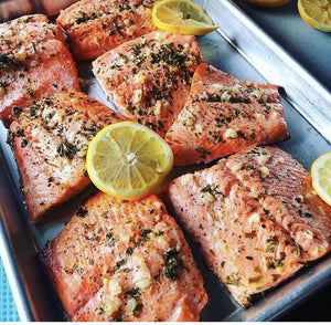 Sockeye Salmon Smaller Portions: 3.5-5.5 oz. each: 10-50 lb. boxes