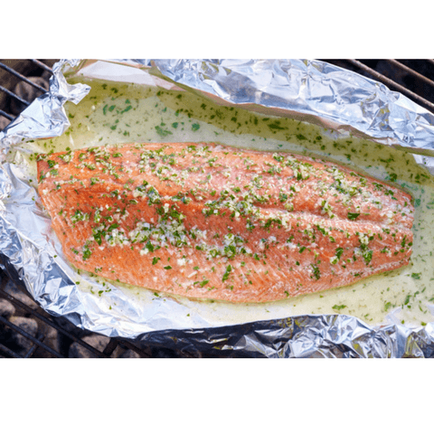 Sockeye Salmon 1-2 lb. fillets: 10-50 lb. boxes