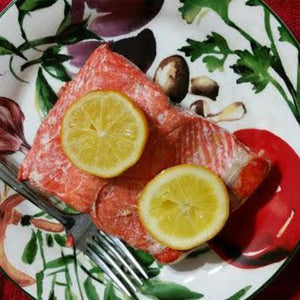Sockeye Salmon 6-8 oz. portions: 10-50 lb. boxes