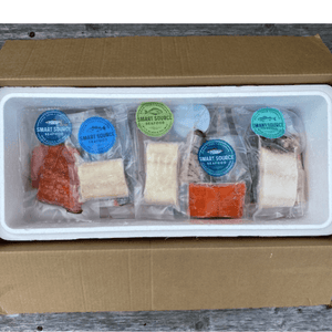 PREORDER 20 Piece Mixed Wild Seafood Box