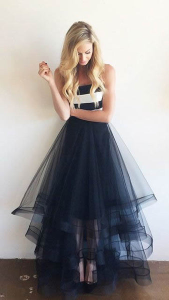 2016 Tulle Prom Dresses pst0340 - Solodresses