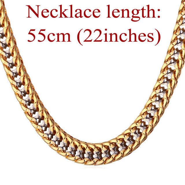 Starlord Thick Hiphop Gold Chains For Men Fashion 22 Gold Color
