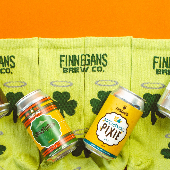 FIGHTING HUNGER WITH FINNEGANS