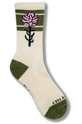 Sock Collaboration with Artist Rachel Pohl