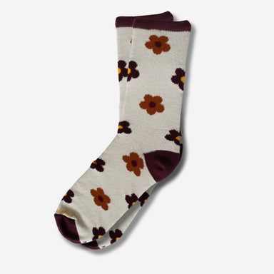 American Made Floral Socks