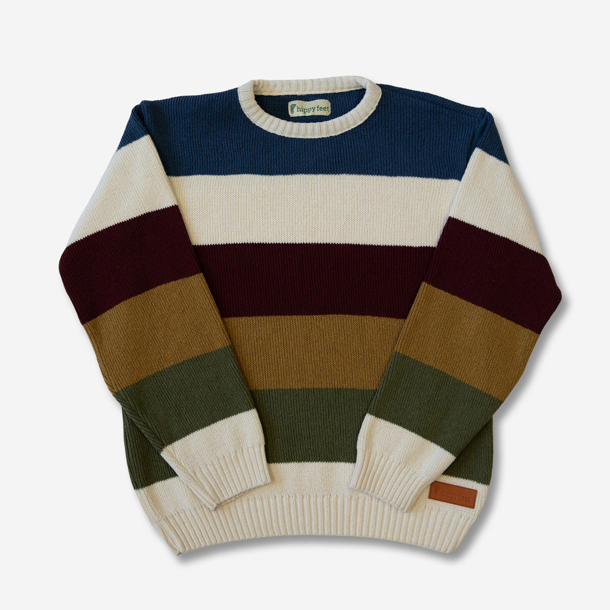 Technicolor Striped Sweater