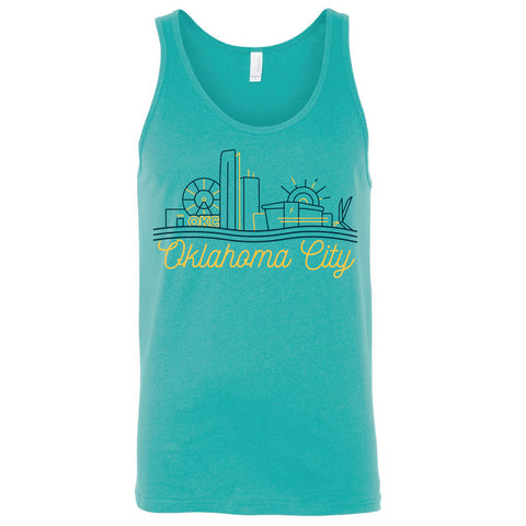OKC Skyline Tank Top