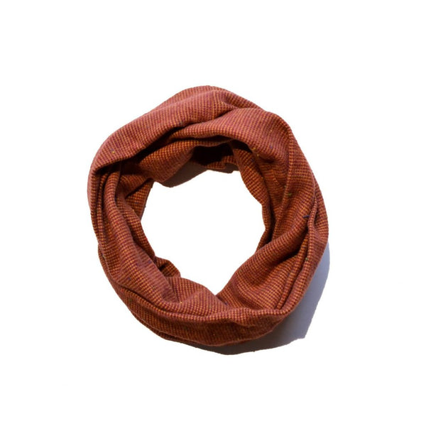 Rust Infinity Scarf