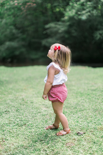 Red Gingham Bloomers