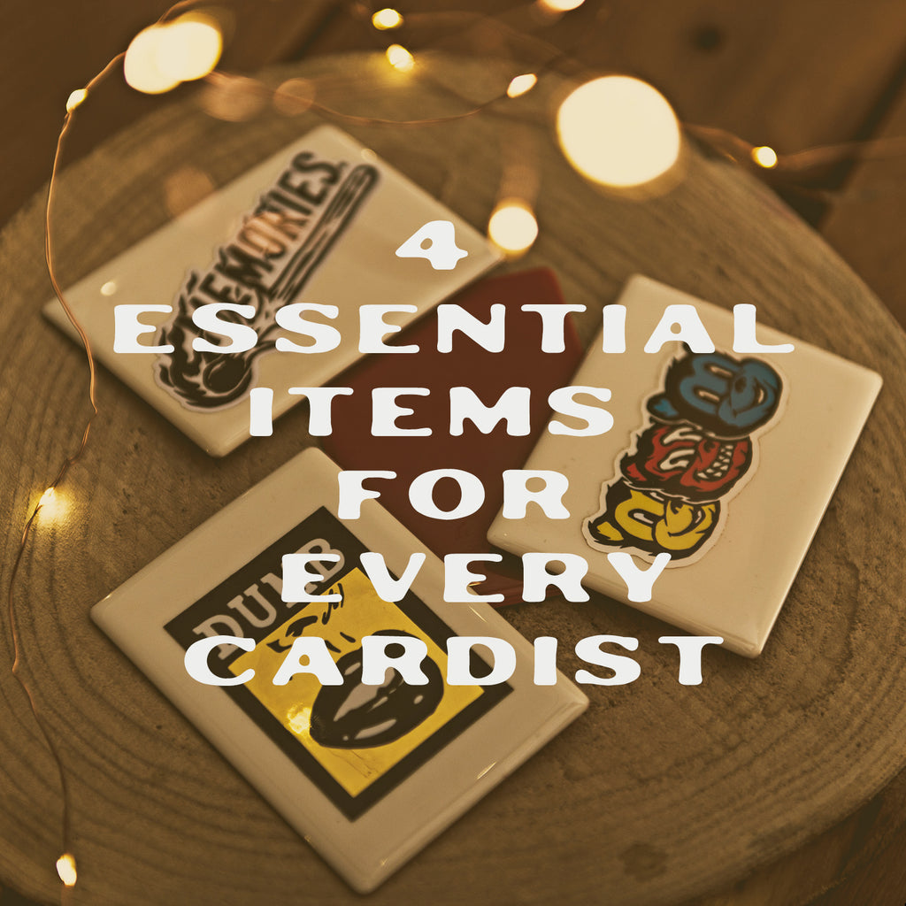 4 essential items that every cardist with a deck of playing cards needs for Cardistry