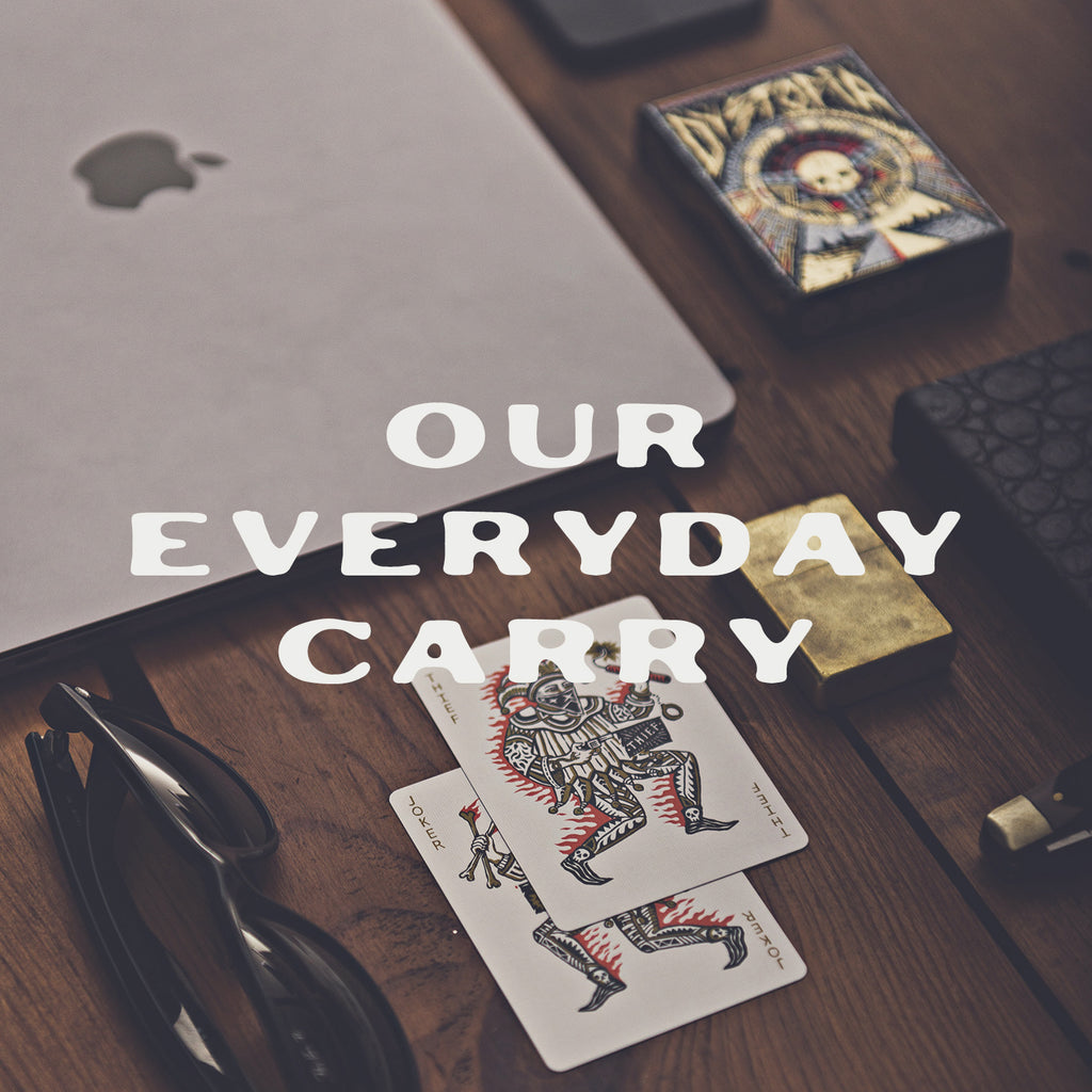 5 items in Joker and the Thief every day carry personal items pockets playing cards