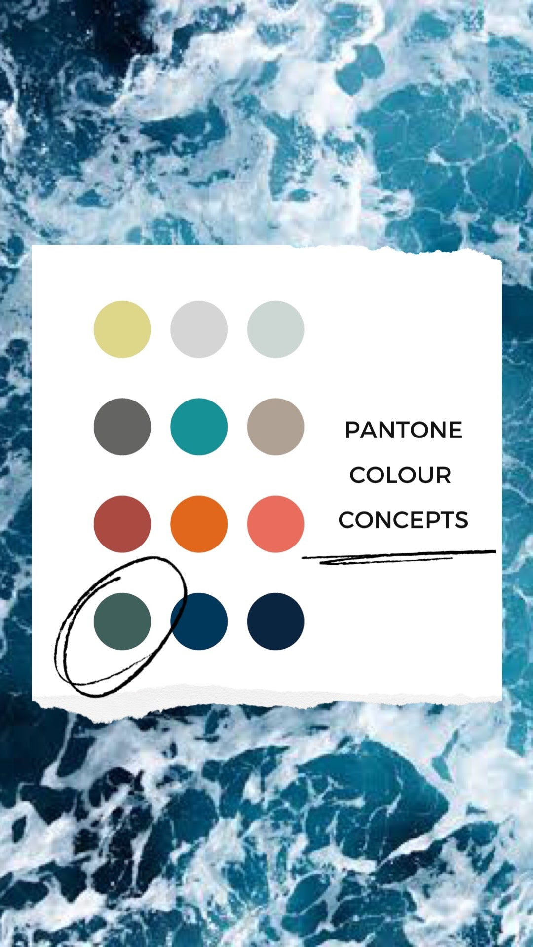 Picking the right Pantone colour for Joker and the Thief's Seafarers Playing Cards