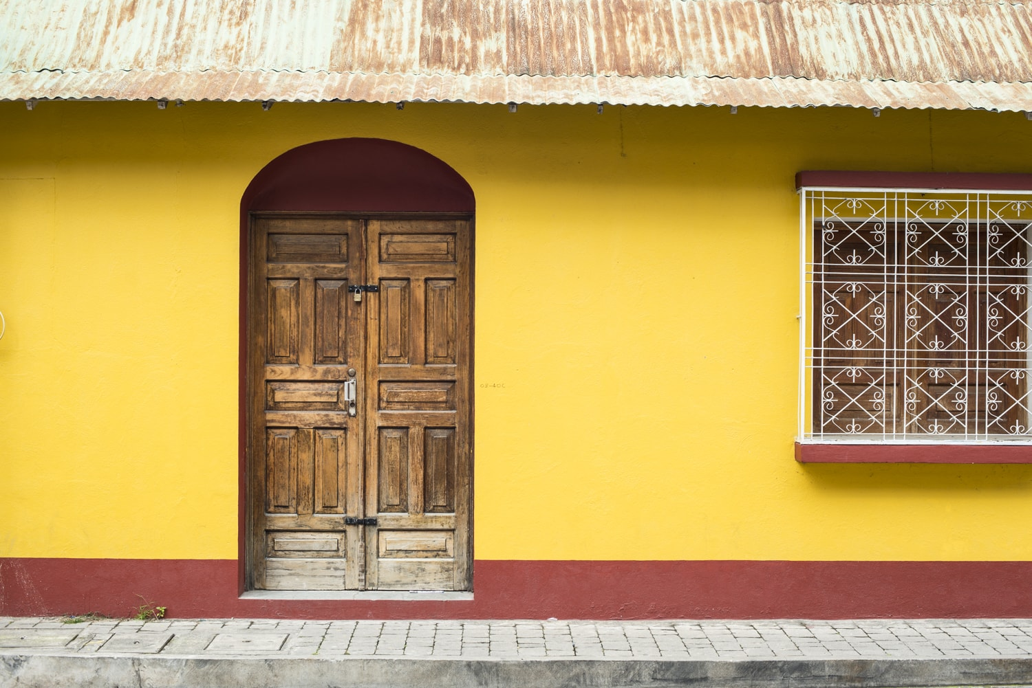 Beautiful Entryways and Windows in Guatemala
