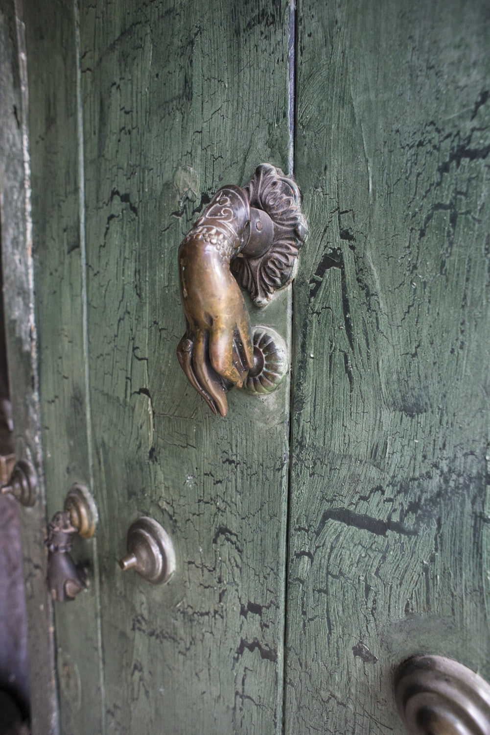 door knocker in antigua guatemala