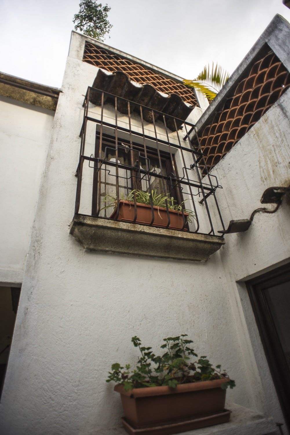 apartment entrance in antigua guatemala