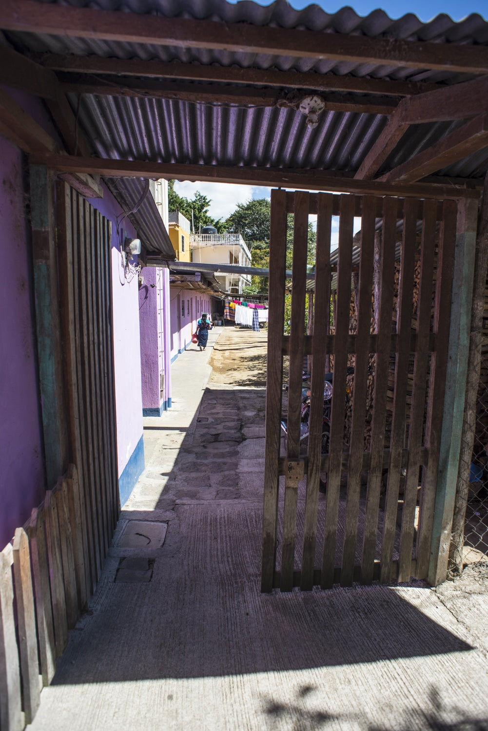 inviting entryway in guatemala