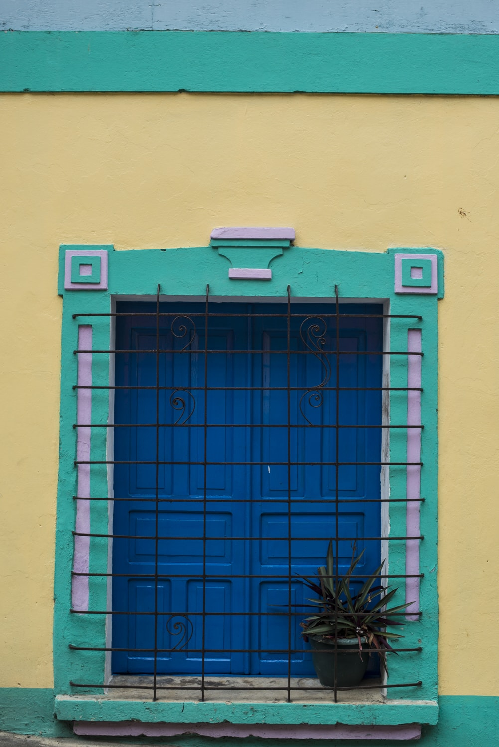 painted doorways in central america