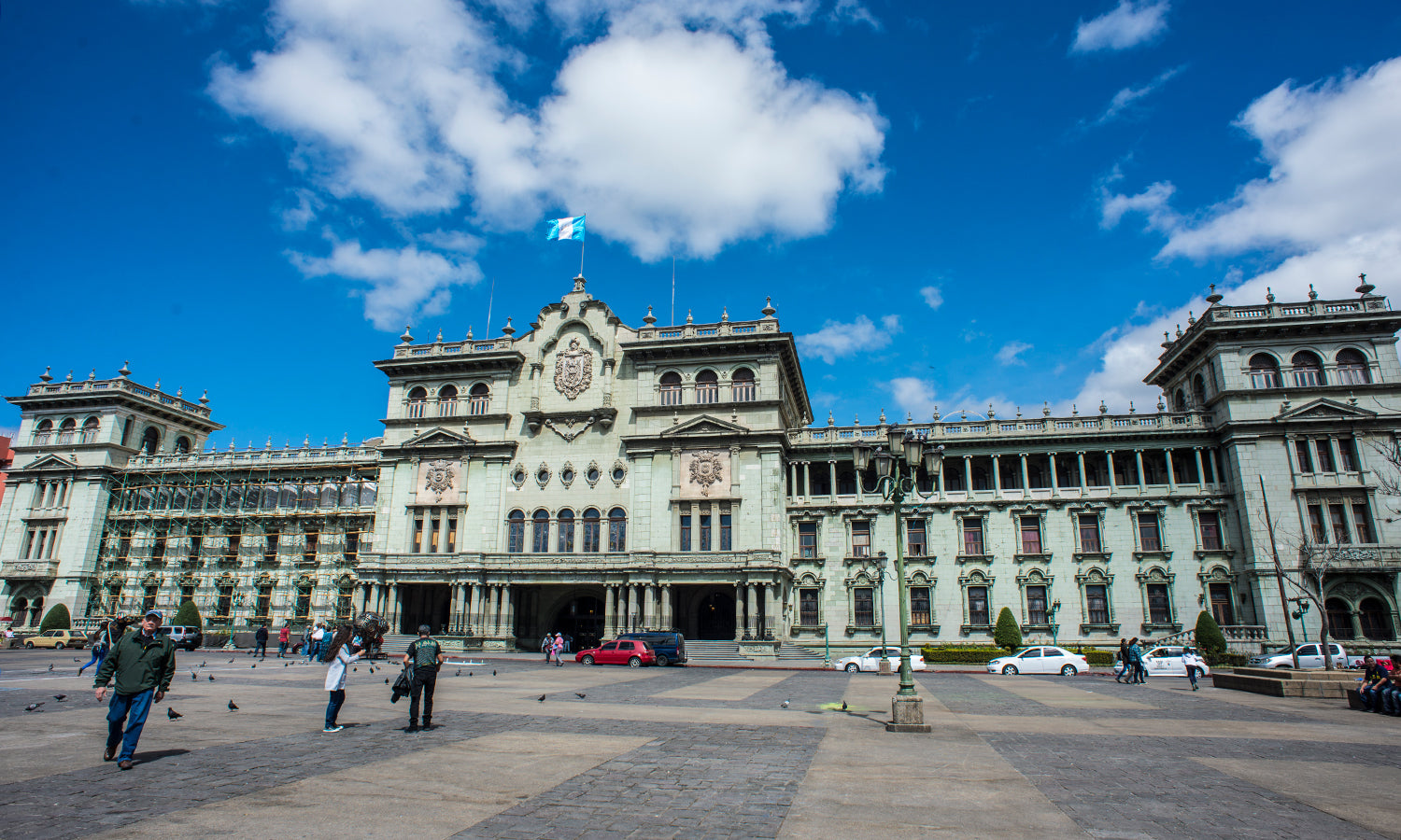 The National Palace in Guatemala City