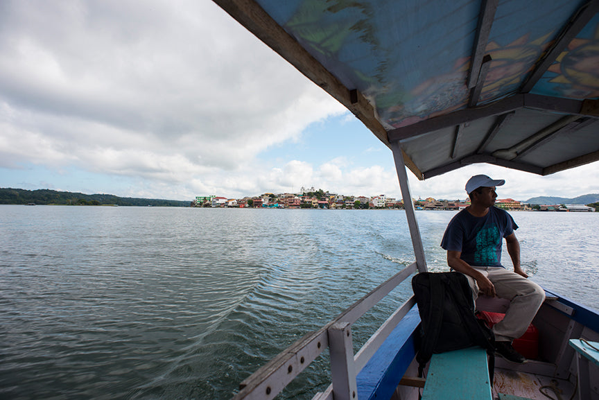 water taxi in flores