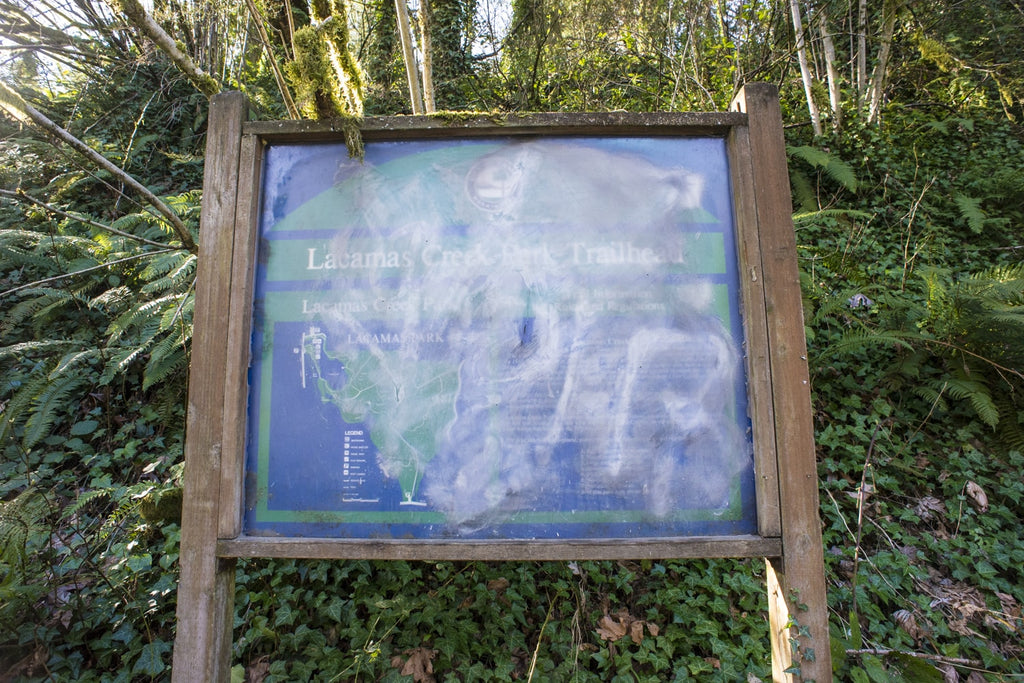 lacamas creek map