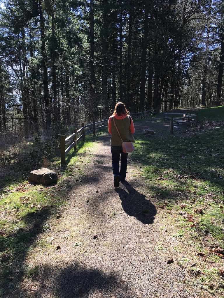 walking trails at scouter's mountain