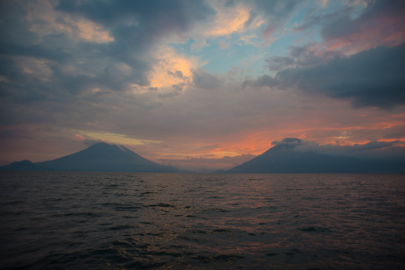 sunsets in guatemala