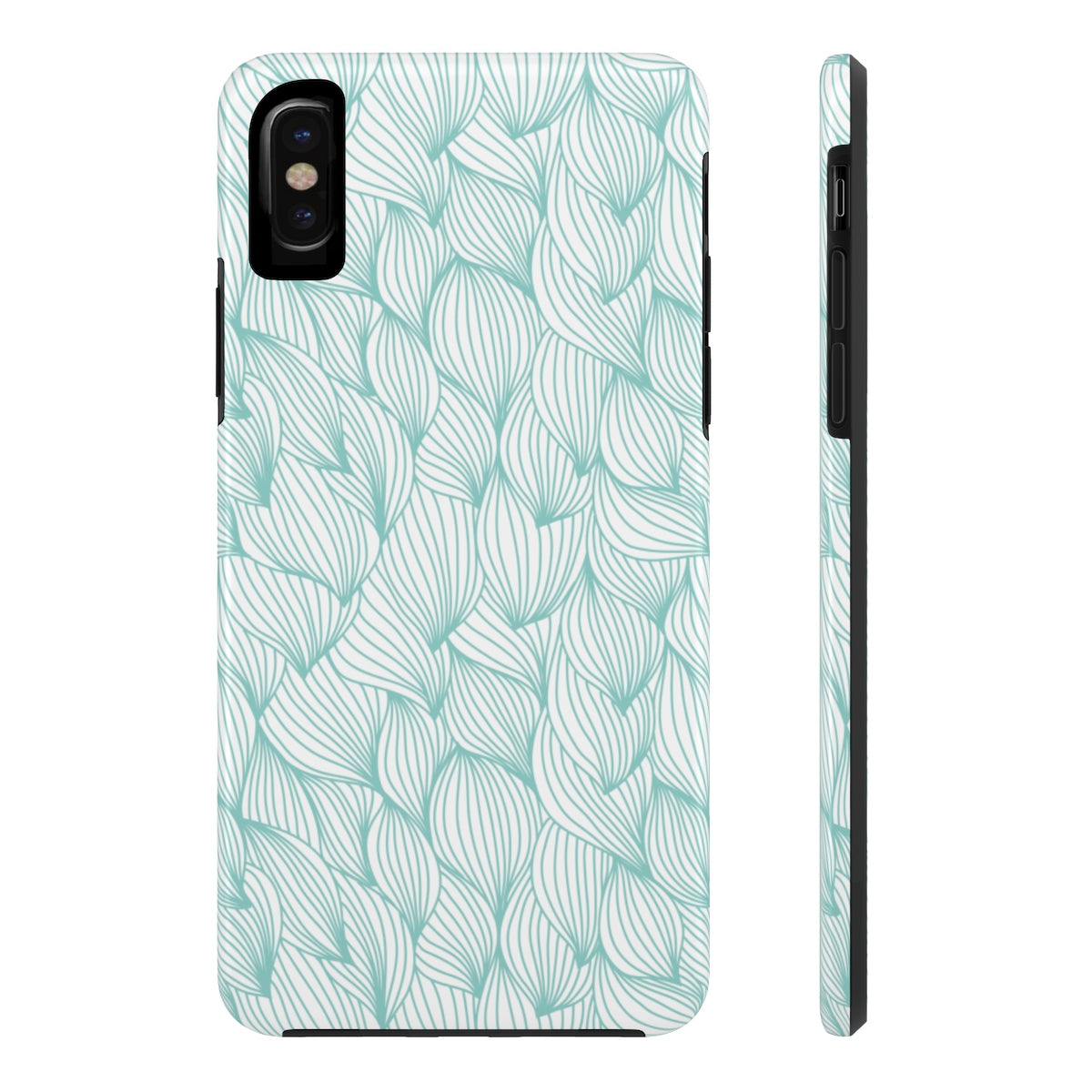Blue Beach Waves - Tough Phone Case