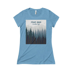 River Deep Mountain High Triblend Short Sleeve Tee
