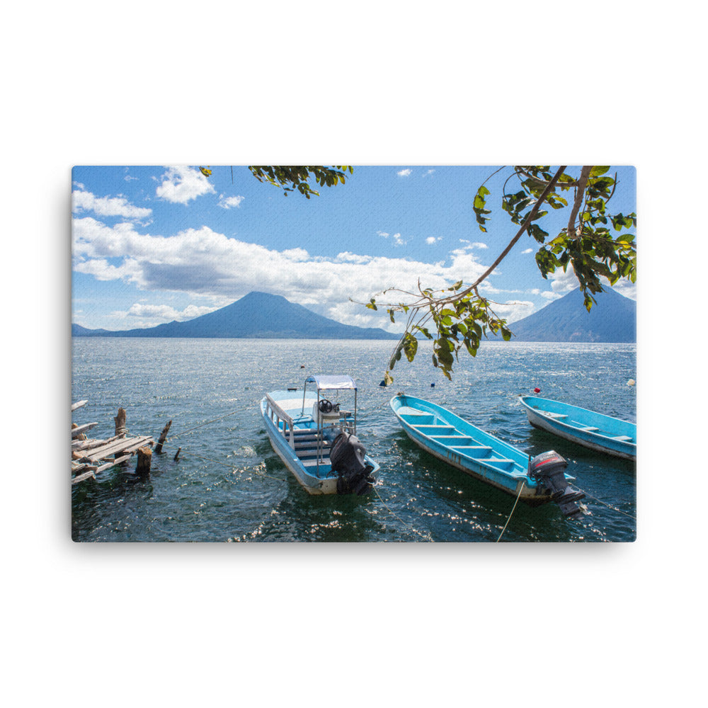 Santa Cruz Boat Dock - Gallery Canvas