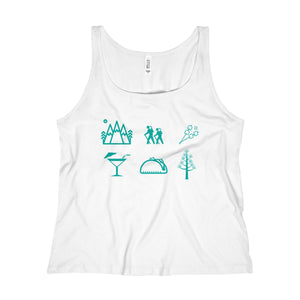Six Pillars of Happiness Women's Relaxed Jersey Tank Top