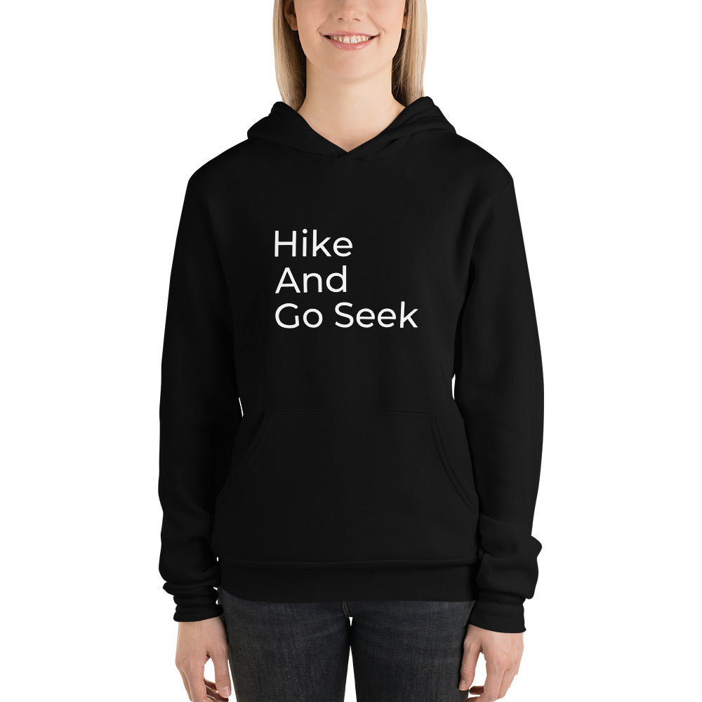 Hike And Go Seek Fleece Hoodie