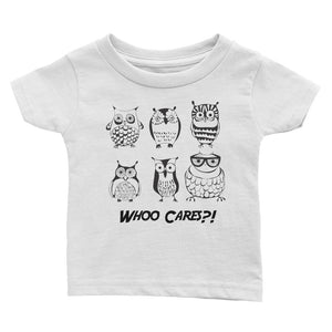 Whoo Cares?! - Toddler Tee