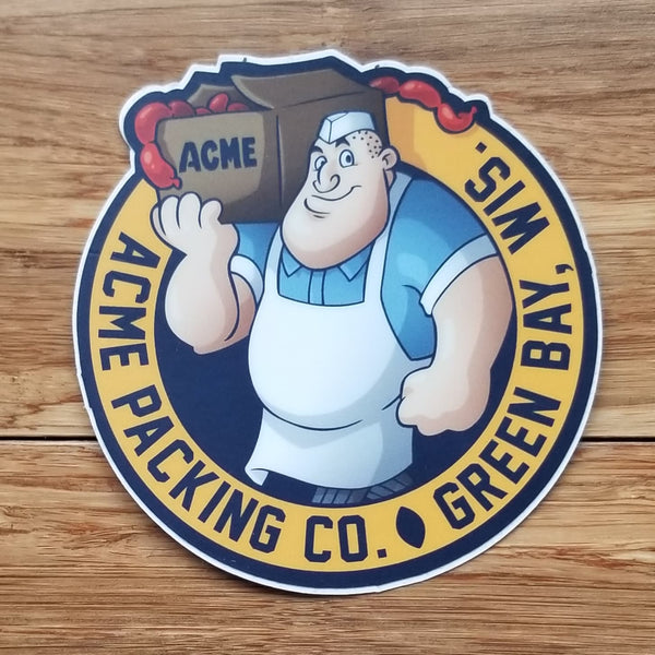 Acme Packing Co. Sticker