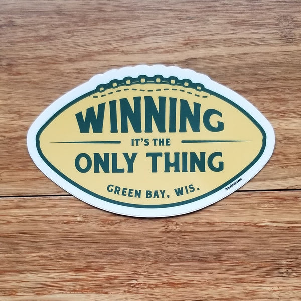 Winning Football Sticker