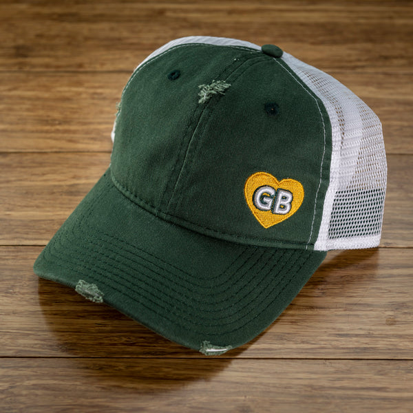 GB Mini Heart Trucker Hat