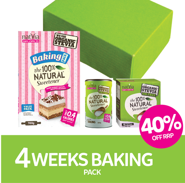 Natvia 4 Weeks Baking Pack