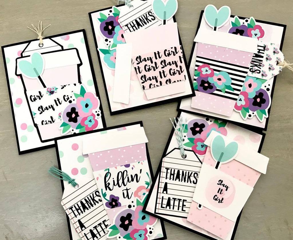 Thank You Cards Tutorial By Amador